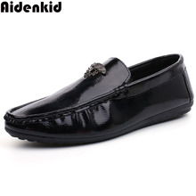Aidenkid 2019 new large size mens casual shoes luxury fashion trend brand wedding