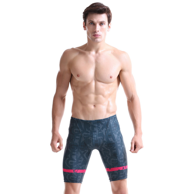 Fashion 2016 Men's Trunks Multi-functional Wear 3D Prints Compression Short Pants Quick Dry Breathable