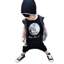 Jumpsuit For Boy Baby Romper 2018 Summer Cotton Black White Clothes for the Male Newborns Bebes Overall