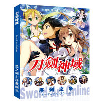 Sword Art Online Collection Colorful Art book Limited Edition Collector's Edition Picture Album Paintings Anime Photo Album