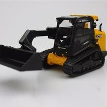UH ROS 1:32 Jcb Wheeld 330 с бортовым поворотом сельскохозяйственные тракторы игрушки для детей сплав модель автомобиля оригинальная коробка
