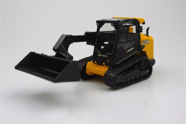 US $30 18 18% OFF|UH ROS 1:32 Jcb Wheeld 330 Skid Steer Agricultural  tractors toys for children Alloy car model Original box freeshipping-in  Diecasts