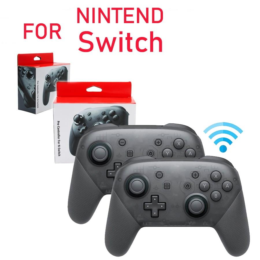 Nintend Switch Game Wireless Joystick Controller for NS Pro Bluetooth Gamepad  Support Somatosensory Vibration R20