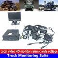 Lkw/schule bus umkehr löst video und video überwachung Lkw Überwachung Suite unterstützt 2 TB festplatte nutzung video