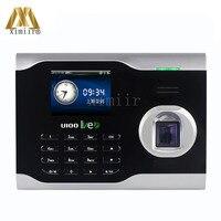 ZK U100 TCP/IP Linux System Biometric Fingerprint Time Attendance Time Clock Employee Attending Control Live ID Finger Clock