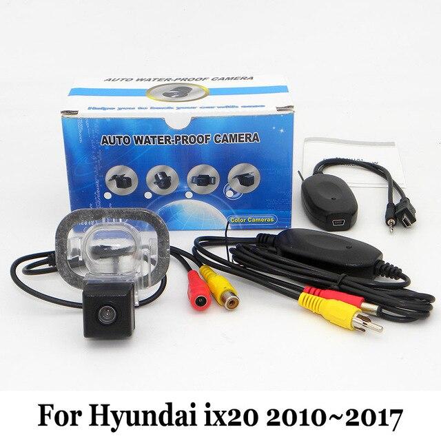 Стоянка для автомобилей Камера Для Hyundai ix20 2010 ~ 2017/Проводной Или Беспроводной Камера заднего вида/HD Широкоугольный Объектив CCD Камера Ночного Видения