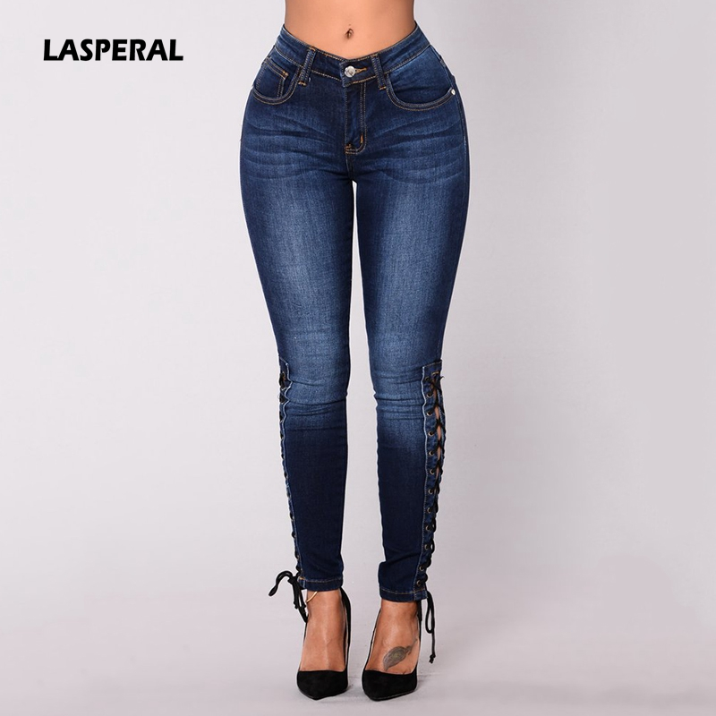 womens casual nightclub jeans big ass high elasticity tight jeans Europe  and the United States sexy ...