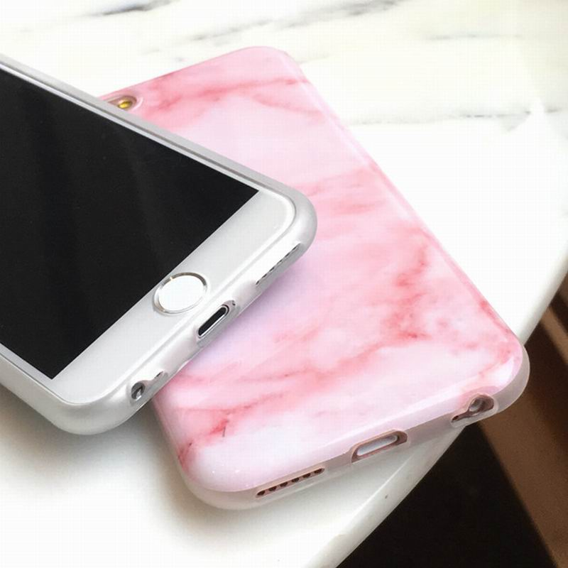SUYACS For iPhone 7 6 6s plus 7 plus Cover Stylish Cute Unique Phone Cases  Girls Coque Wine Red Pink Marble Soft IMD Skin Shell-in Phone Bumper from  ... 314f39f2c