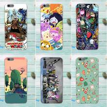 Cat Adventure Time Balloon High Quality For Apple iPhone 4 4S 5 5C SE 6 6S 7 8 Plus X For LG G3 G4 G5 G6 K4 K7 K8 K10 V10 V20(China)