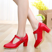 Bottom Oxford Women Latin Dance Shoes Sports Rumba Modern Shoes With Ladies Dancing Shoes Trading Athletics