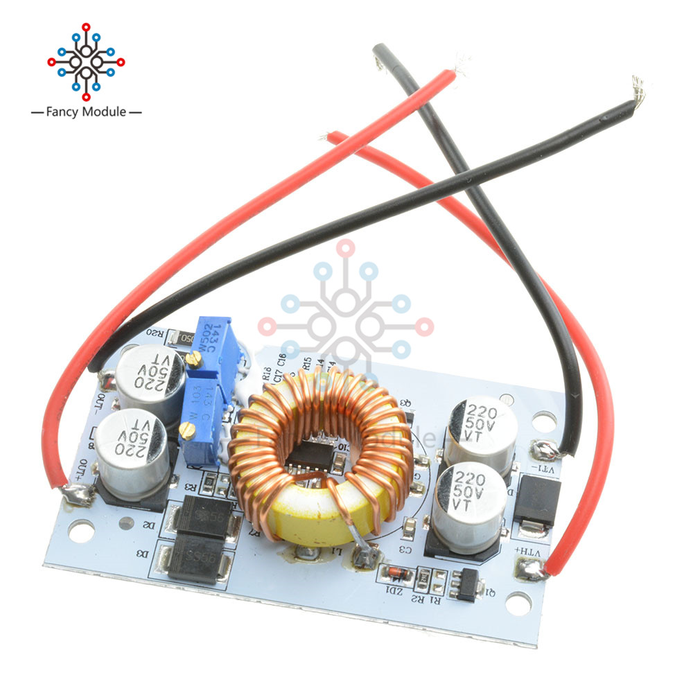 DC DC Boost Converter Constant Module Current Mobile Power Supply 250W 10A LED Driver Step Up Module impact of climate variability
