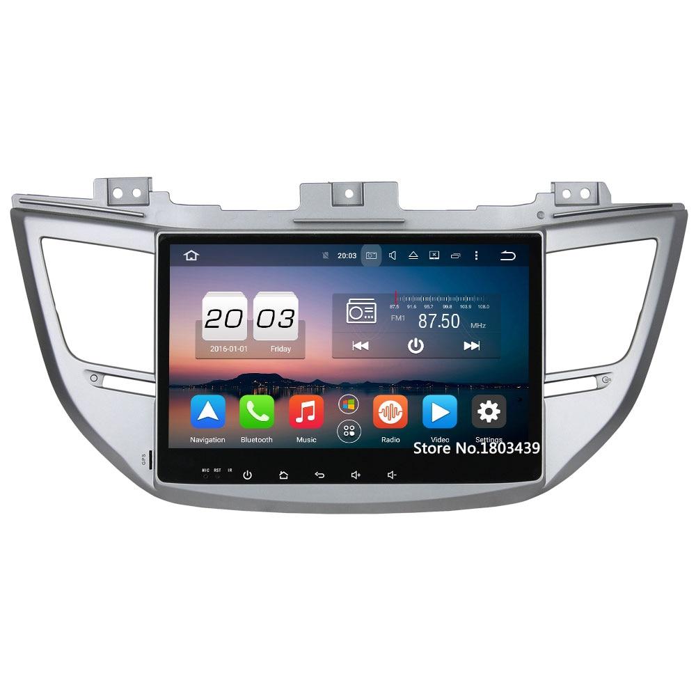 10.1 Octa Core 32GB ROM 4GB RAM 3G 4G WIFI Android 6.0 DAB+ SWC Car DVD Player Radio For Hyundai IX35 Tucson 2015 2016 2017 10 1 tda7851 android 7 1 for hyundai ix35 tucson 2015 2016 2017 2gb ram car dvd player gps map rds radio wifi 4g bluetooth 4 0