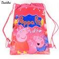 1 Pic niños mochilas Bolsas escuela de Dibujos Animados Para Chicas y Chicos de usos múltiples de La Princesa Cordón mochila Navidad gifts48