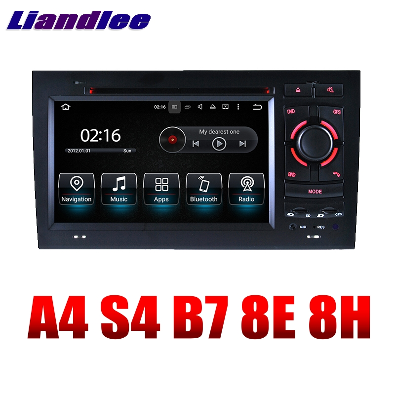 Liandlee Car Multimedia Player NAVI For Audi A4 S4 B7 8E 8H 2002~2008 Car Touch Screen System Radio TV DVD Stereo GPS Navigation