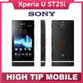 Original Unlocked Sony Xperia U ST25 ST25i 3G GPS WIFI 5MP Android Mobile Phone Refurbished 1 year warranty Freeshipping