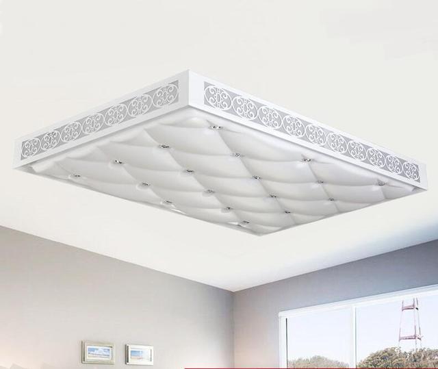 beauty plafondverlichting led rechthoekige woonkamer licht