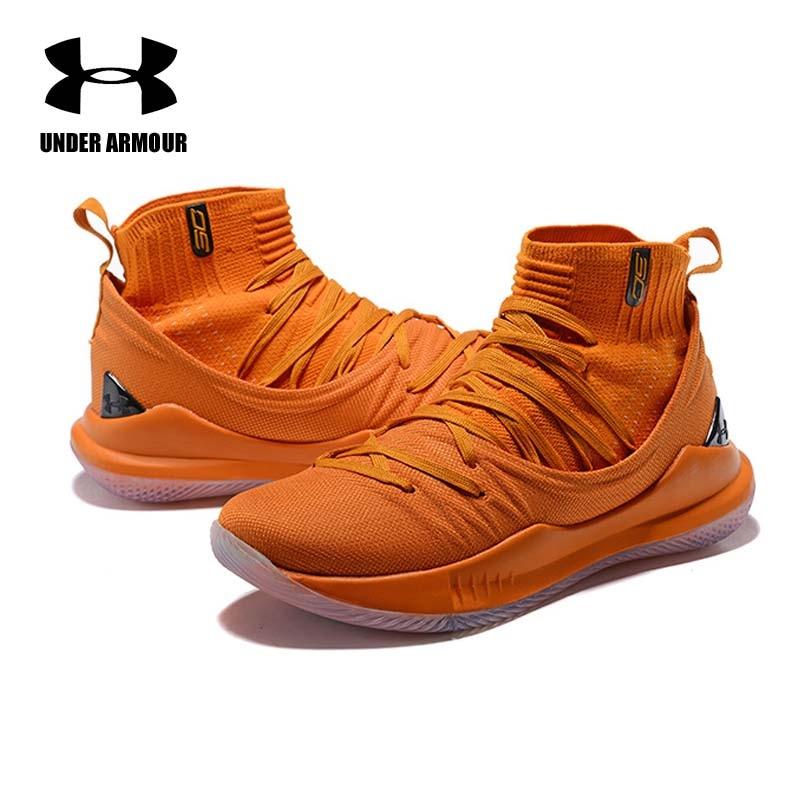 Sous armure hommes Curry 5 chaussures de basket stephen curry chaussures tenis basket mode chaussette espadrille Zapatillas hombre Deportiva