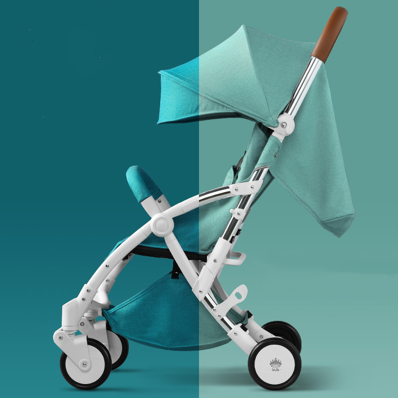Baby trolley baby trolley light folding can take a child can be lying four-wheeled shock absorber car high profile baby trolley ultra light can be lying down two way four wheel shock baby trolley