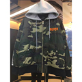 2017 Europe style autumn and winter new justin bieber concert Purpose tour camouflage MA1 flight jacket men' s jacket With a cap
