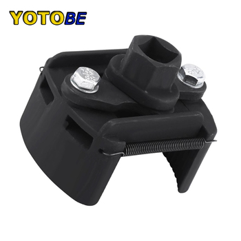 60mm-80mm Universal Cast Steel Adjustable 2 Jaw Oil Filter Wrench Fuel Remover Removal Tool Two-claw Cast Steel Filter Wrenches