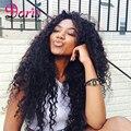 8А Класс Afro Kinky Вьющиеся Волосы Девственницы 4 Связки Rosabeauty Продукты Волос Afro Kinky Curl Человеческих Волос Перуанской волосы Девственницы