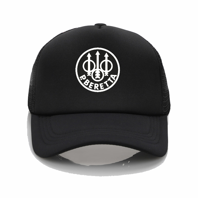 Military fan Beretta Gun Logo   Baseball     Caps   Summer Fashion hip hop hat Men Women trucker hat