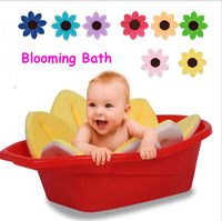 baby inflatable Cute Blooming Bath Flower Beauty Bath Tub toy Baby Blooming Sink Bath For Baby Infant Lotus handmade Baby bath