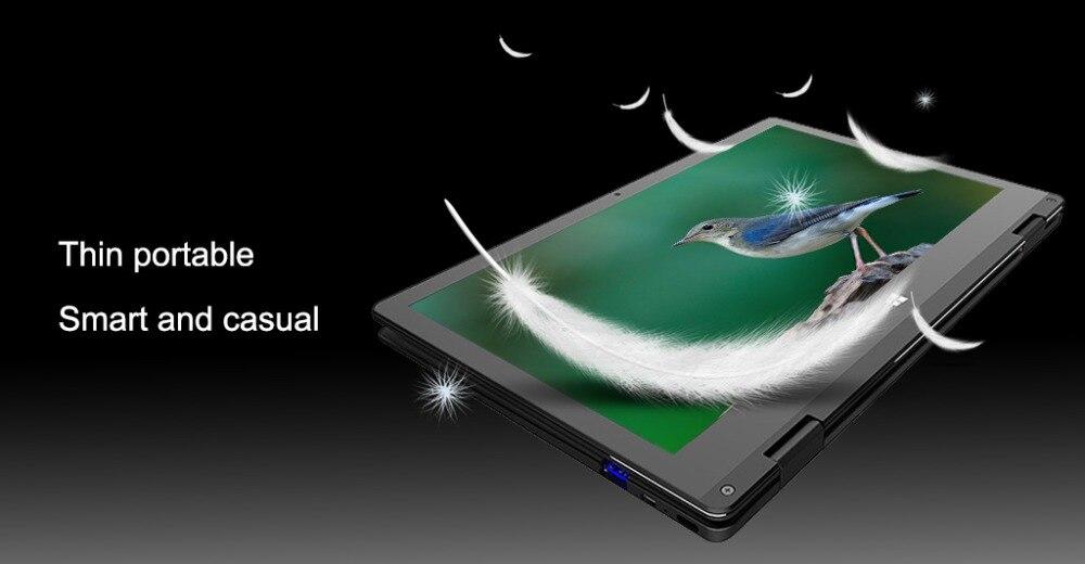 11.6 inch 2 in 1 convertible touch screen Netbook 8GB RAM 1920X1080 IPS Screen 192GB dual band wifi iTSOHOO 360 degree laptop 15