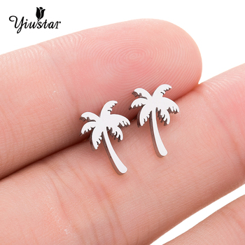 2020 Hawaiian Earrings for Women Simple and Convenient Pierced Earrings Cute Coconut Earrings Female Jewelry for Women Gifts image
