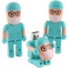 USB Flash Drive PenDrive 4GB/8GB/16GB/32GB/64GB Doctor Plastic