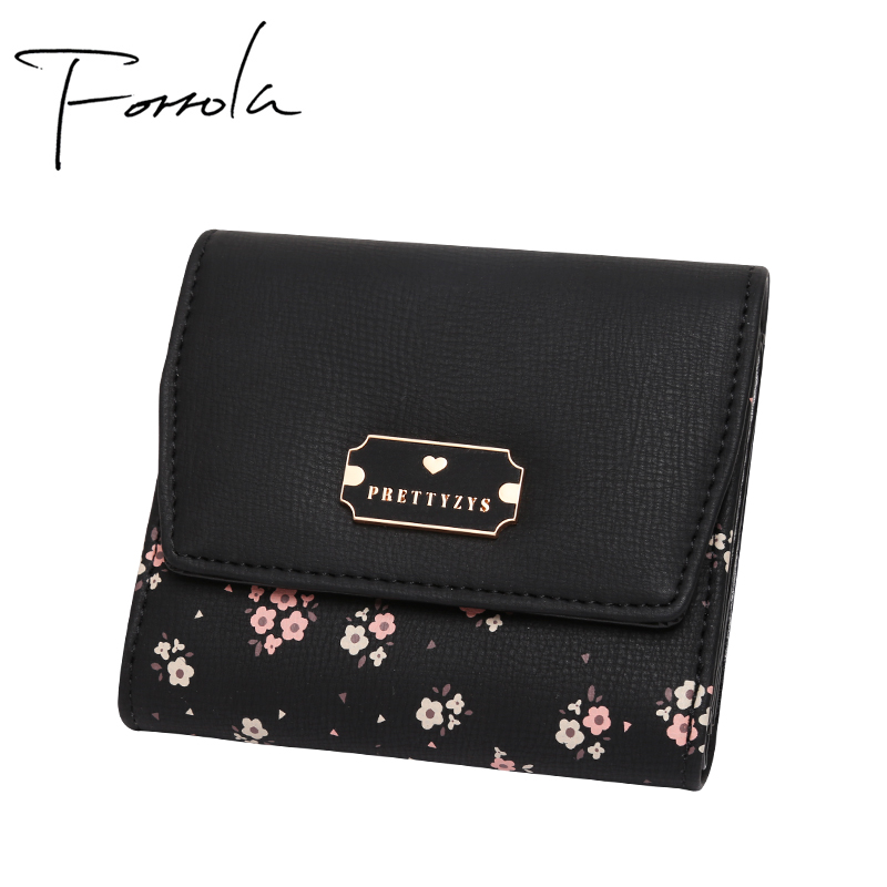 Latest Women Floral Wallets Leather Female Wallet Lady Credit Card Holder Small Change Purse Coin Purses For Girls Carteira