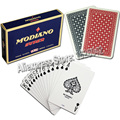 Modiano Ramino Bridge Super Flori Standard Size  2 Index 2 Decks a Set 100% Plastic Playing Cards Casino Quality Made In Italy