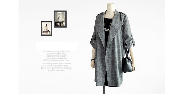 HTB1JIVAqiMnBKNjSZFoq6zOSFXaO New Fashion Autumn Spring Women Jackets Open Front Coat Long Cloak Jackets Overcoat Waterfall Cardigan Female Blusas