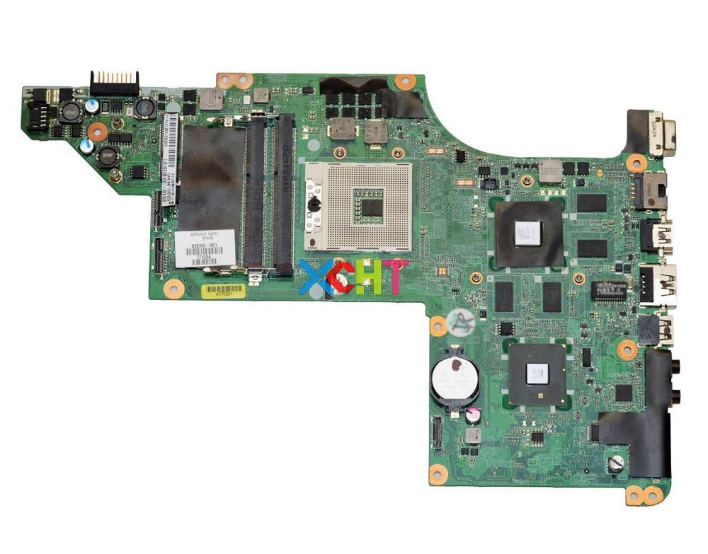 XCHT for HP Pavilion DV7 DV7-4000 Series DV7T-4000 605320-001 DA0LX6MB6H1 5650/1G Laptop Motherboard Tested & working perfectXCHT for HP Pavilion DV7 DV7-4000 Series DV7T-4000 605320-001 DA0LX6MB6H1 5650/1G Laptop Motherboard Tested & working perfect