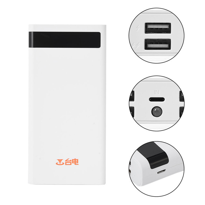 Teclast T200CE 20000mAh Power Bank Portable Charger 4 Output <font><b>8</b></font> Pin Micro USB Emergency PowerBank LED Light for IOS Android Table
