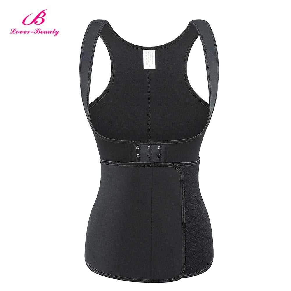 9523ea1ddc3 ... Lover Beauty Womens Shapewear Weight Loss Neoprene Sauna Sweat Waist  Trainer Corset Top Vest Workout Slimming ...