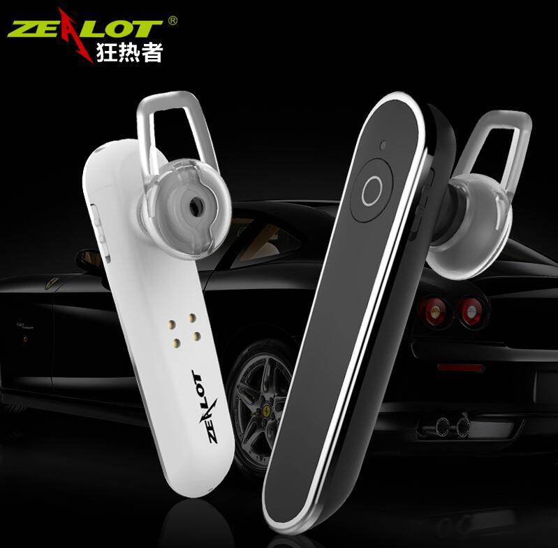 Zealot E5 Carkit Wireless bluetooth headset music headphones car driver handsfree fone de ouvido auriculares with microphone