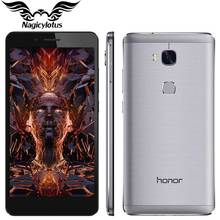 "Original HuaWei Honor 5X Play 4G LTE Mobile Phone MSM8939 Android 5.1 3GB RAM 16GB ROM 5.5"" FHD 1920X1080PiX 13.0MP Fingerprint"