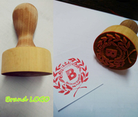 Diy Self Inking And Wooden Wedding Rubber Stamp Custom Logo Or Letter For Scrapbooking