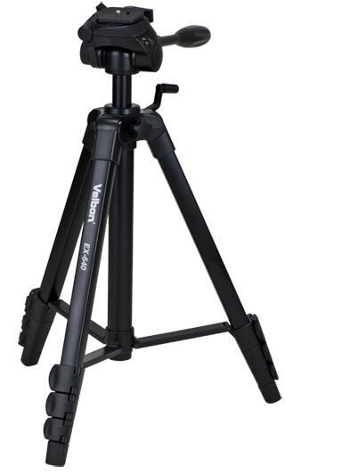 Velbon Tripod Company EX-640 universal Black tripod 535-1700mm штатив velbon ex 330