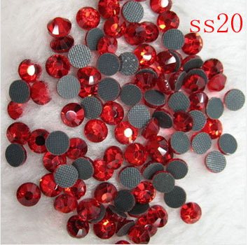 Free Shipping Crystal Hot fix stone SS20 100gross 14400pcs DMC hot fix diy stone 4 6