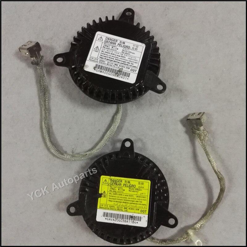 1PC Original HID Xenon D1S D1R  Ballast GAMA00G098A0401 GAVA2OGO3BA1184 (Genuine and Used)