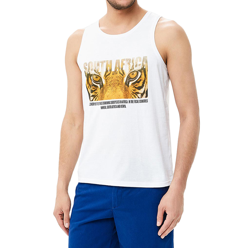 Tank Tops MODIS M181M00305 men t shirt top for male TmallFS