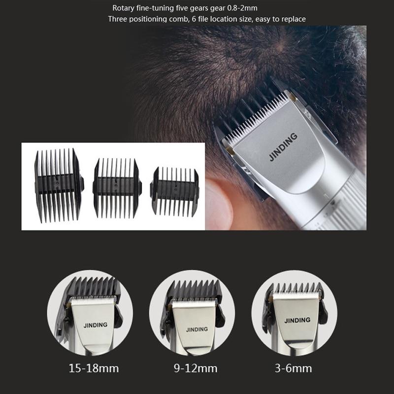 Jinding Electric Hair Clipper Trimmer Professional Hair Cutting