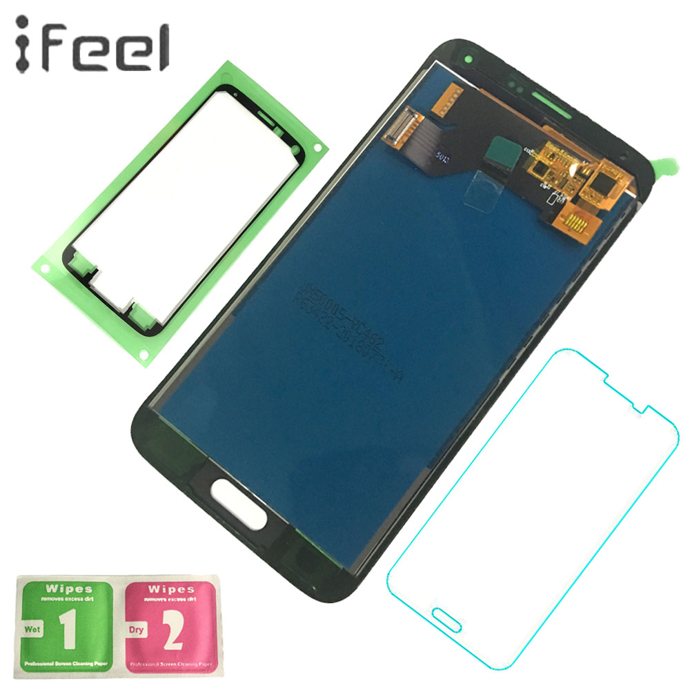 IFEEL Tested LCD Display For Samsung Galaxy S5 i9600 G900 <font><b>G900F</b></font> G900R G900H LCD Display + Touch Screen Digitizer Assembly image