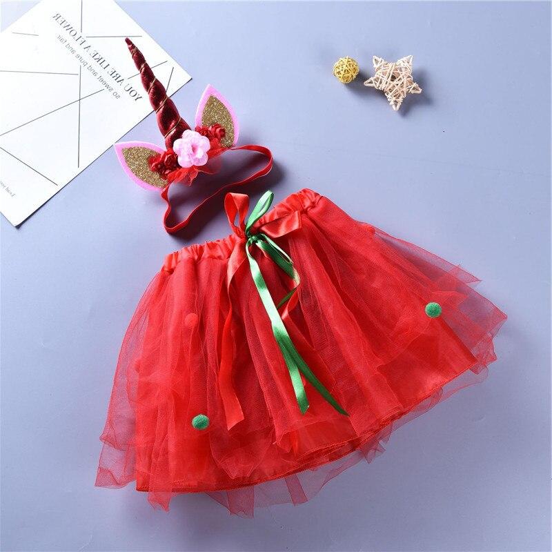 2 Stücke Kinder Kleidung Neugeborenen Baby Weihnachten Einhorn Party Tutu Handgemachte Kinder Kleid Für Mädchen Vestidos Baby Mädchen Kleidung D0947 Stabile Konstruktion