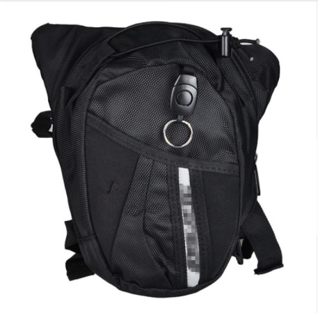 Betrouwbaar Groothandel Hot Black Motocross Beenzak Motorcycle Riding Bag Knight Heuptas Outdoor Multifunctionele Tas