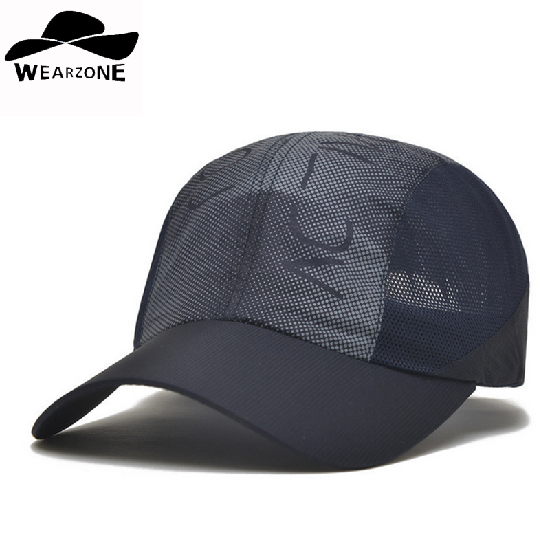 New 2016 man woman baseball caps men's hats breathable outdoor - Apparel Accessories