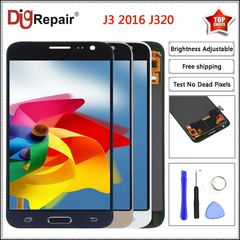 j320f lcd For Samsung Galaxy J3 2016 Display J320F J320FN