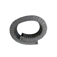 JFLO 35×100 High-speed mute Open on both side type engineering nylon towline / Drag chain / tank chain / cable protection chain